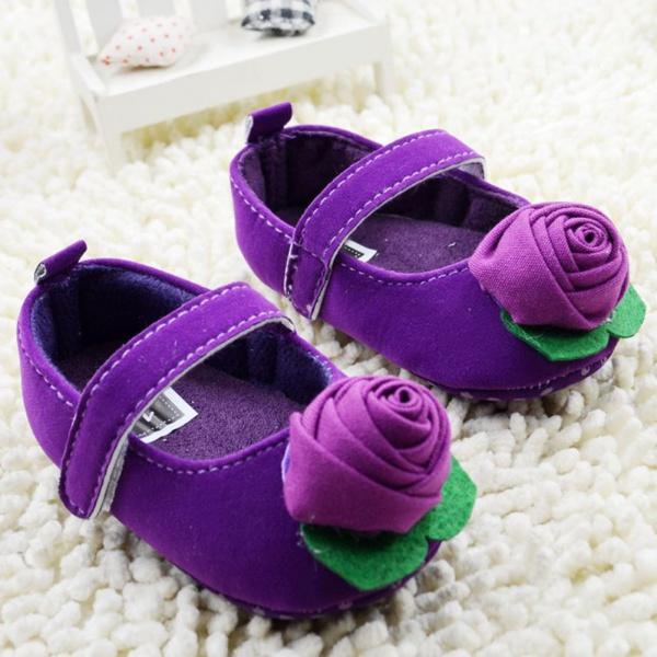 Baby kids Toddler Shoes sapato sapatos infantil bebe Spring Autumn Rose flower soft sole girl shoes