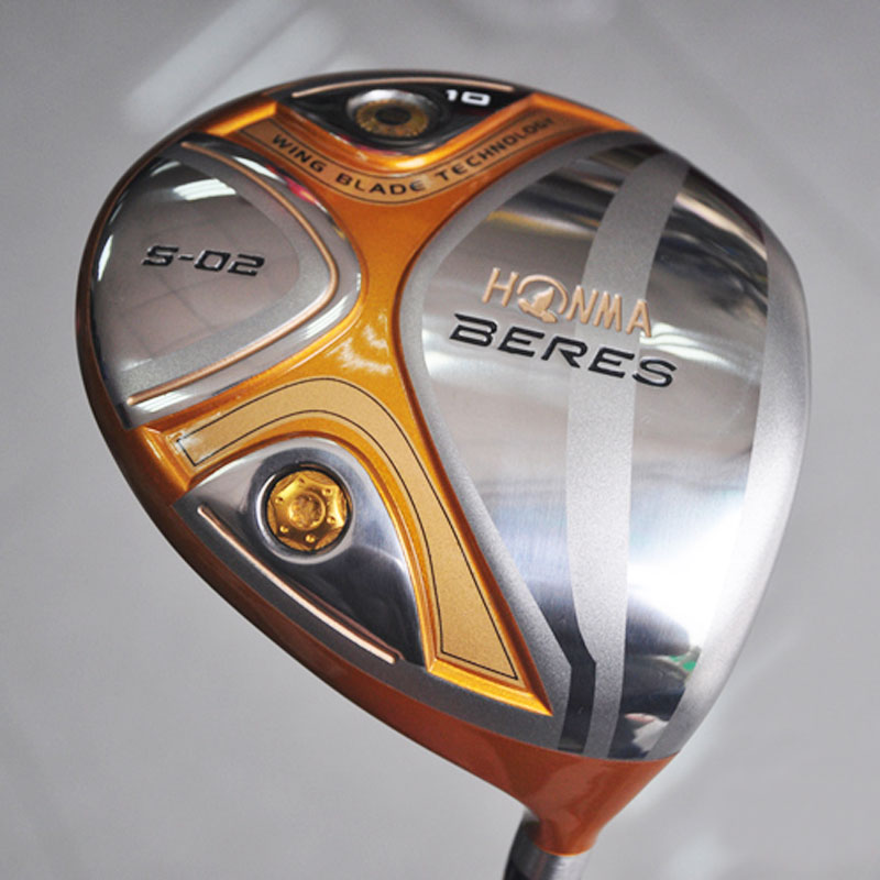 New Golf Clubs HONMA BERES S-02 Golf driver 9/10 loft clubs driver Graphite Golf shaft&driver headcover Free shipping(China (Mainland))