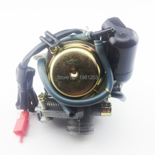 Good 24mm Big Bore Carb CVK Keihin Carburetor for Chinese GY6 125cc 150cc motorcycle parts scooter Moped ATV(China (Mainland))