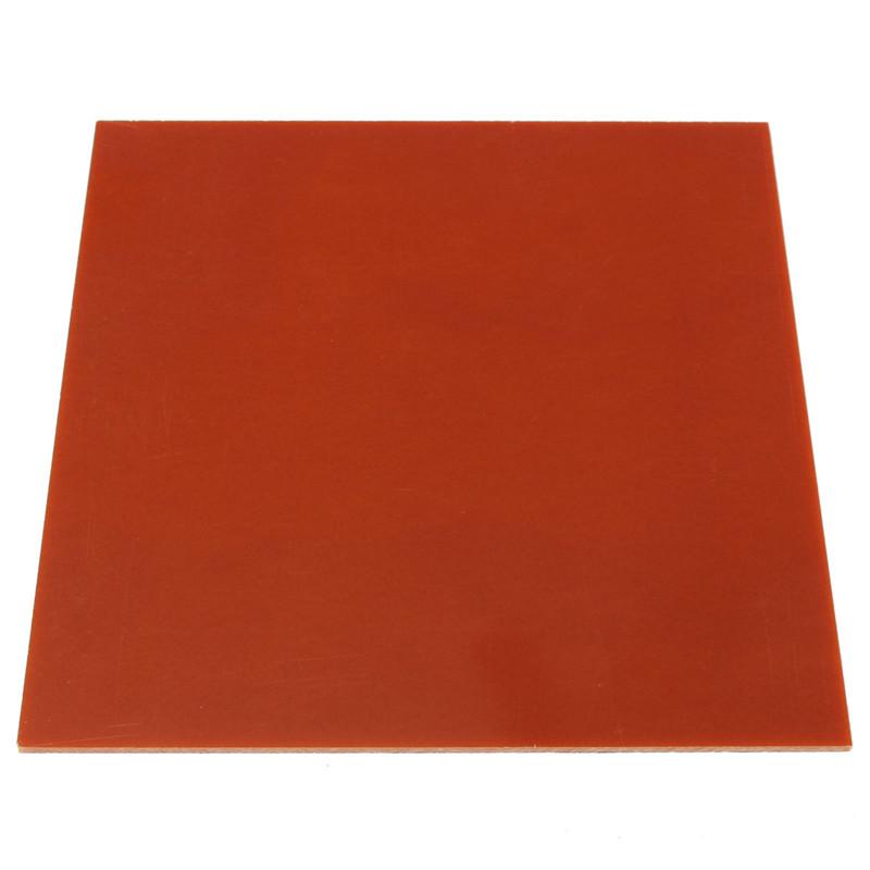 1pcs Bakelite Phenolic Flat Plate Sheet 3mm x 200mm x 200mm Phenolic Resin Slice(China (Mainland))