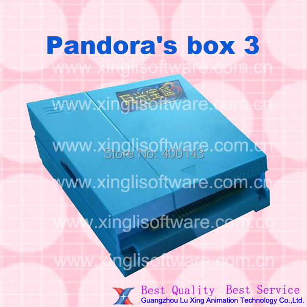 10pcs of Just Another Pandora's Box 3/520 in 1 game board/28pin jamma connector for arcade CRT or LCD cabinet(China (Mainland))