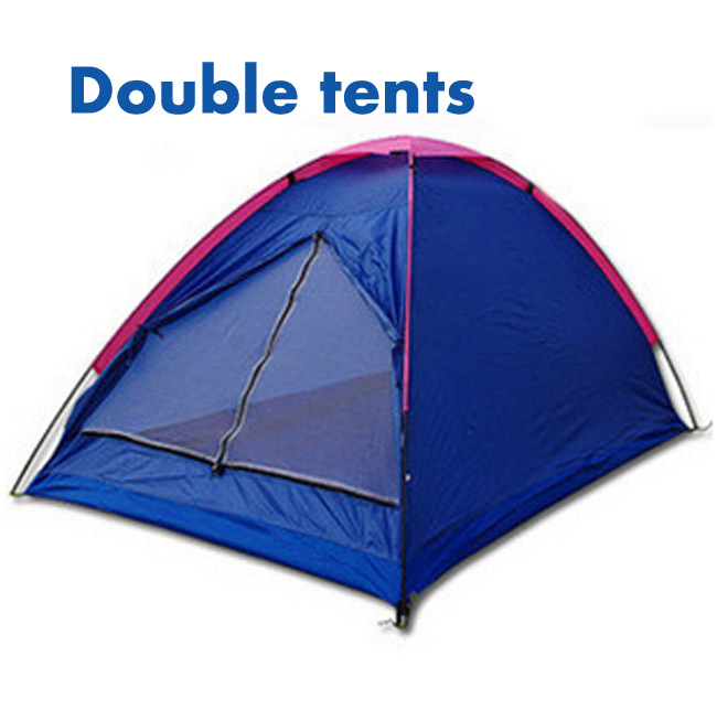 Hot sell Oxford cloth Lovers double person Outdoor casual camping tent single layer 2 person tent FS10193 Free Drop Shipping(China (Mainland))