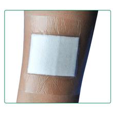 9PCs/3bags 10cmX10cm Large Size Hypoallergenic Waterproof Medical adhesive wound dressing Gauze Band aid Bandage(China (Mainland))
