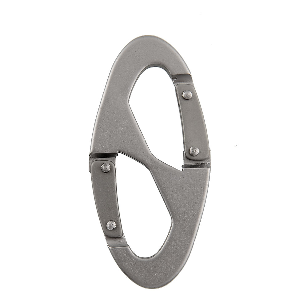 Camping Hiking Scouts Bottle Snap Clip Buckle Aluminum Carabiner