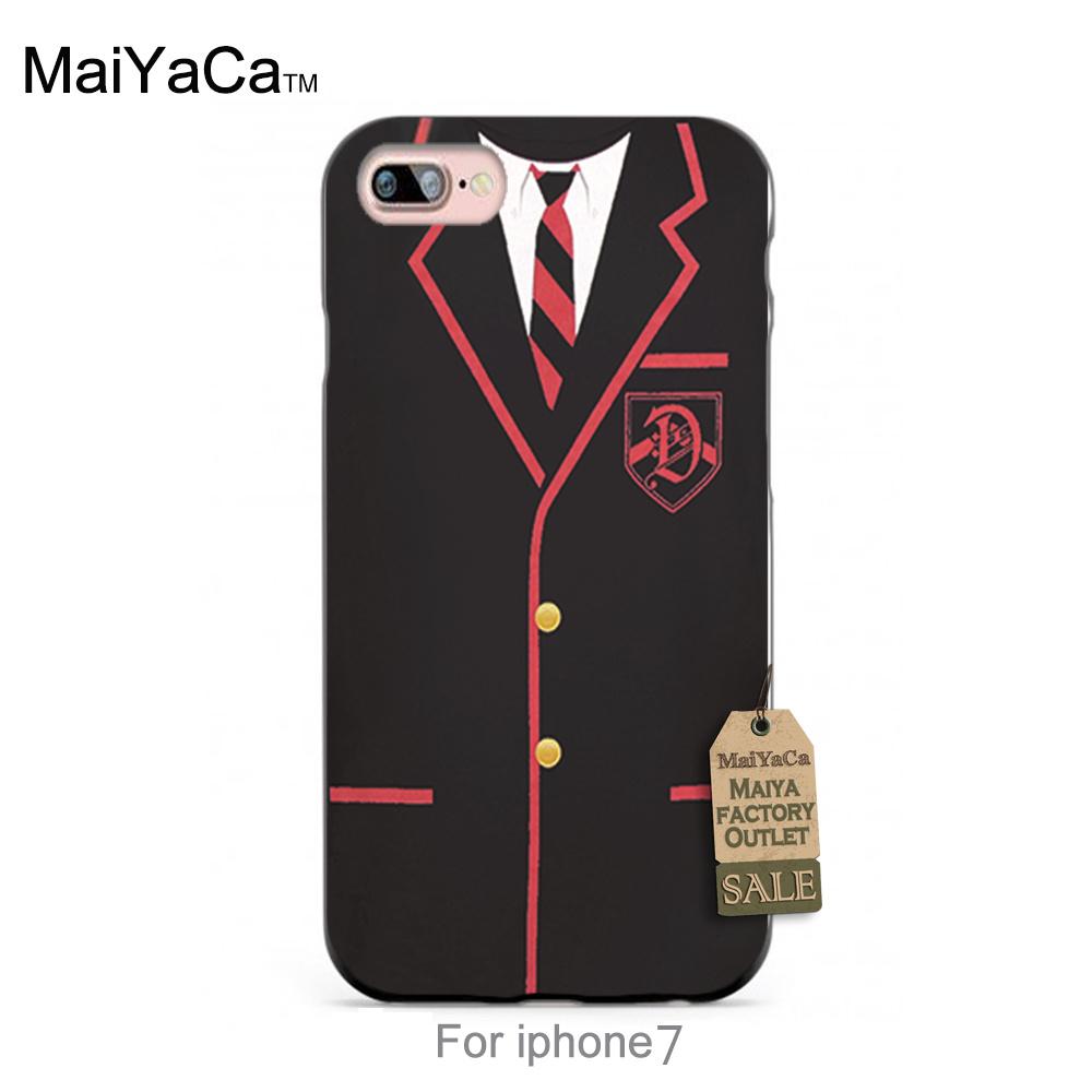 GLEE DALTON ACADEMY UNIFORM Unique Design High Quality phone case For iPhone 7 7s ccase(China (Mainland))