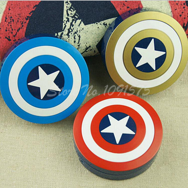 Contact Lenses box case for lenses Captain America Eyewear Accessories Contact lens bag Eyewear Cases 3 Color V1413(China (Mainland))