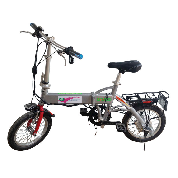 Selling 16 inch stack of folding electric bike electric bicycles annual sales run 30 kilometers on