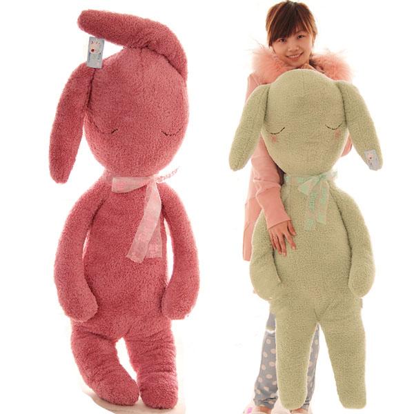 Pernycess super cute sock Rabbit lovely plush pillow cushion,1# 80cm stuffed animals,Stuffed plush baby bed dolls,amazing gifts(China (Mainland))