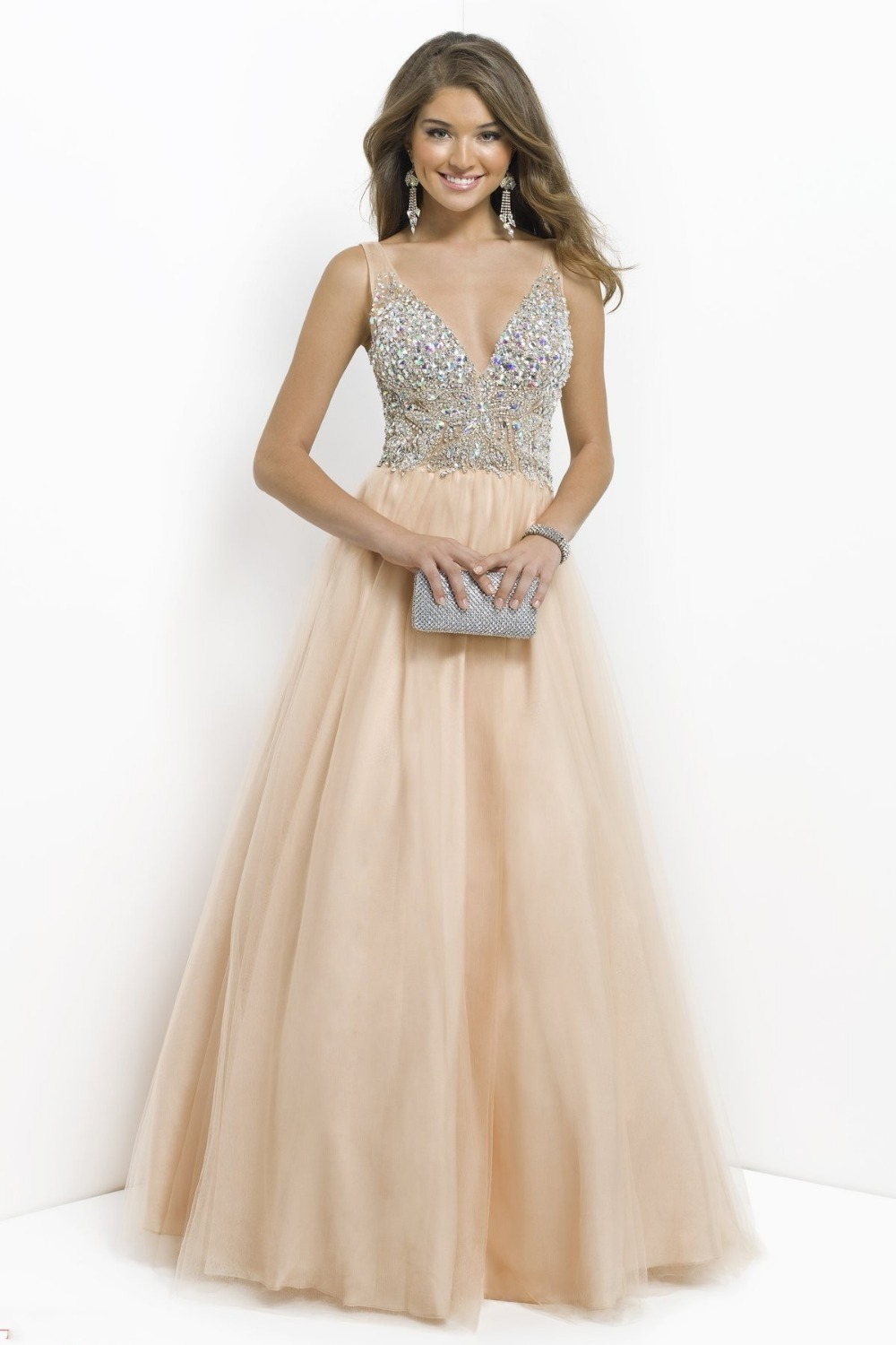 Cheap Poofy Prom Dresses