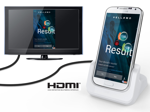 S4 HDMI Desktop Charging Cradle For Samsung Galaxy S4 Portable Docking Station With HDMI HDTV(China (Mainland))