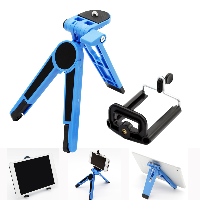 Mini Table Video Camera Recording Tripod for iPad 2 3 4 Air and for Iphone with free Clip Braket(China (Mainland))