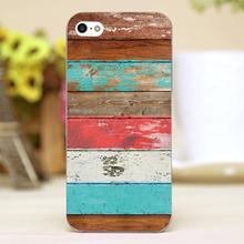 Eco Fashion Vintage wood Design transparent case cover cell mobile phone cases for Apple iphone 6 6plus hard shell