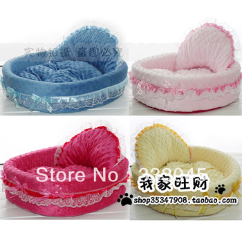 FREE shipping pet product pet nest dog bed cat bed house comfortable princess puppy bed brand warm kennel bed house good quality