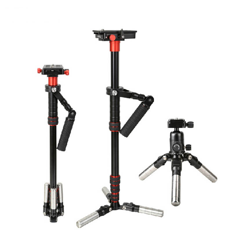 NEW Weifeng HJ220A Professional Camera Stabilizer Mini Tripod Extendable Handheld Stabilizer for Camcorder Camera Video DV DSLR(China (Mainland))