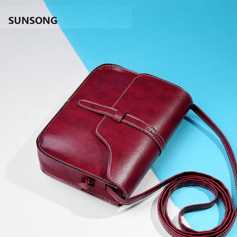 Womens Vintage Mini Flap Bag Ladies Casual PU Leather Crossbody Shoulder Bag<br><br>Aliexpress