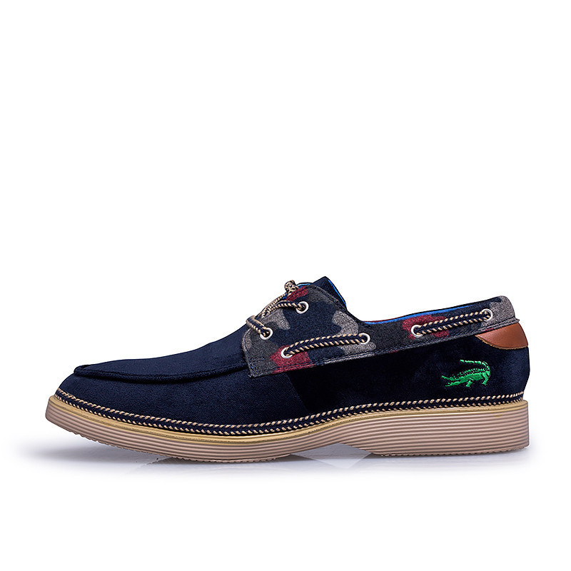 Original brand crocodile logo boat shoes men's casual genuine leather sneakers fashion flats other similar brand shoes in stock(China (Mainland))