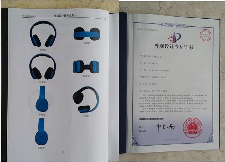 2016 Bluetooth Wireless Headphones Over-ear DJ Stereo Bluetooth Headsets Earphone With Box Headphone For iPhone Samsung LG