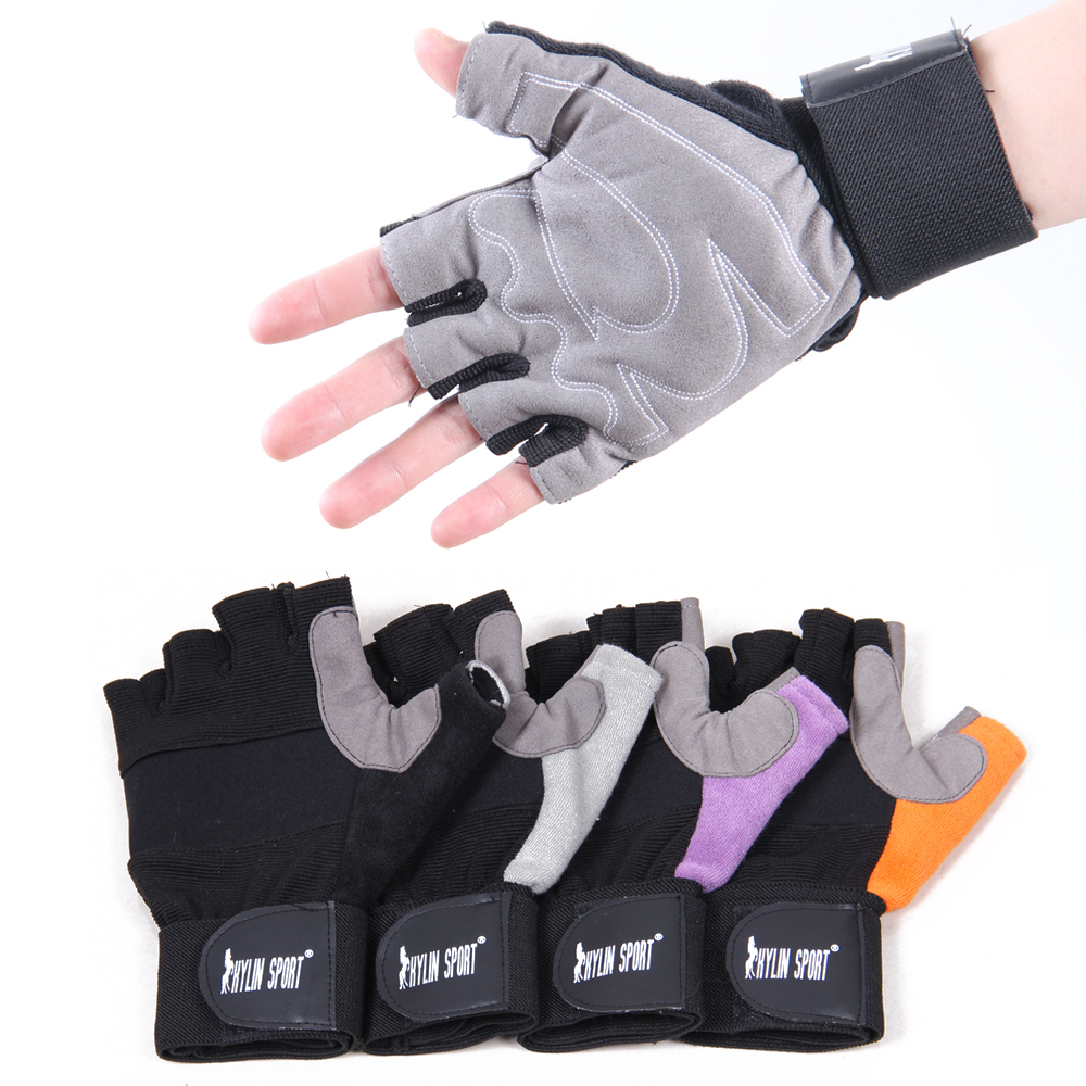 high quality fitness gloves half finger gloves sports dumbbell lengthen wrist support bicycle ride gloves for free shipping<br><br>Aliexpress