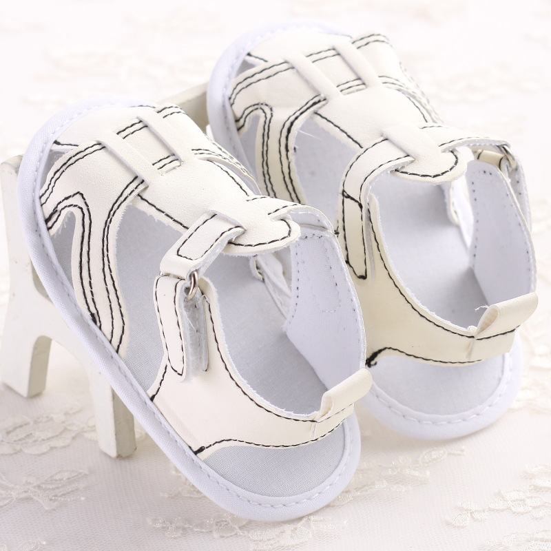 2016 Fashion Cool White Summer Baby Shoes Toddler Infants Antislip First walkers Bebe Crib Walking Shoes(China (Mainland))