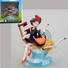 Anime Ghibli Hayao Miyazaki Kiki's Delivery Service KIKI Model Collection Figure Brinquedos Toys New In Original Box