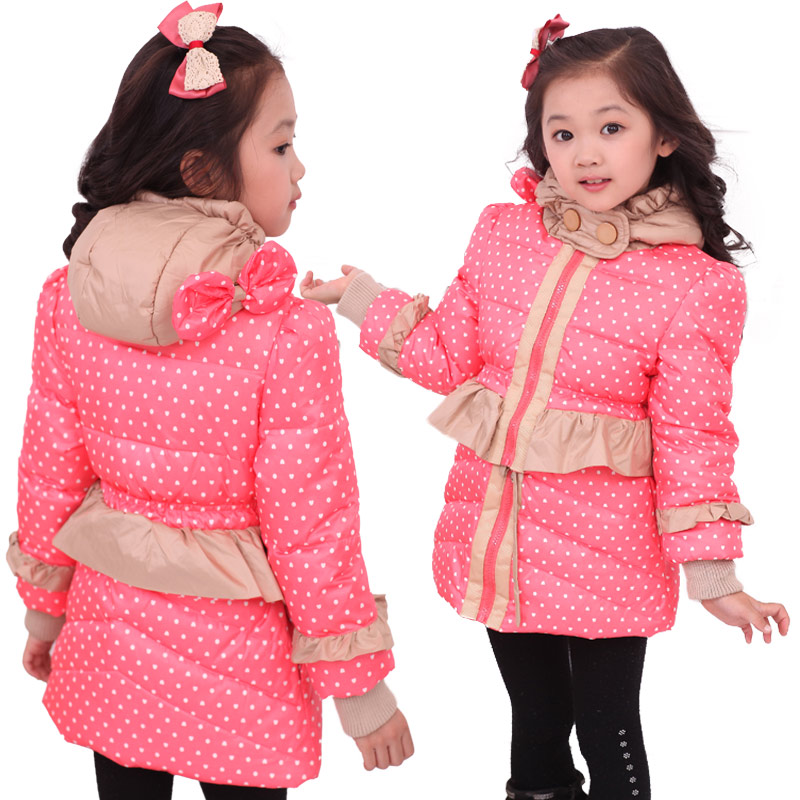 New ChildrenS Winter Jacket For Girls Kids White Duck Down &amp; Parkas Kid Down Coat Outerwear Coats For Girls Free Shipping B1721<br><br>Aliexpress