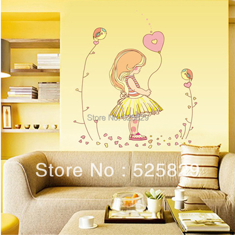 Contemporary Girls Wall Decor Pattern - Art & Wall Decor - hecatalog ...