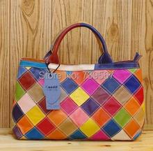 Gift for MOM Women Messenger Bags Designer Brand Genuine Leather Handbag Sheepskin Large Tote Bag shoulder bag Crossbody Bags