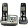 KX-TS 105 One-Line Desk/Wall Hands-free Telephone with Speakerphone in Base Home Office Corded Phone Support Battery Powered
