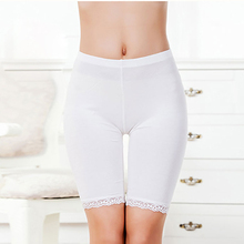 Hot Salel Ladies Knee-Length Short Leggings Under Skirts,  Comfortable Lightweight Bamboo Underpants for Summer 3 Sizes(China (Mainland))