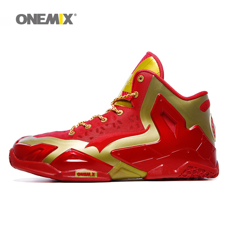 2016 Onemix Brand new arrival men Top Quality basketball shoes cheap athletic sport sneakers online sale US size 7- 12 shoes1115