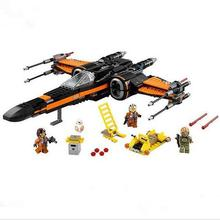 Building Blocks Super Heroes Star Wars First Order Poe's Star Fighter MiniFigures The Force Awakens