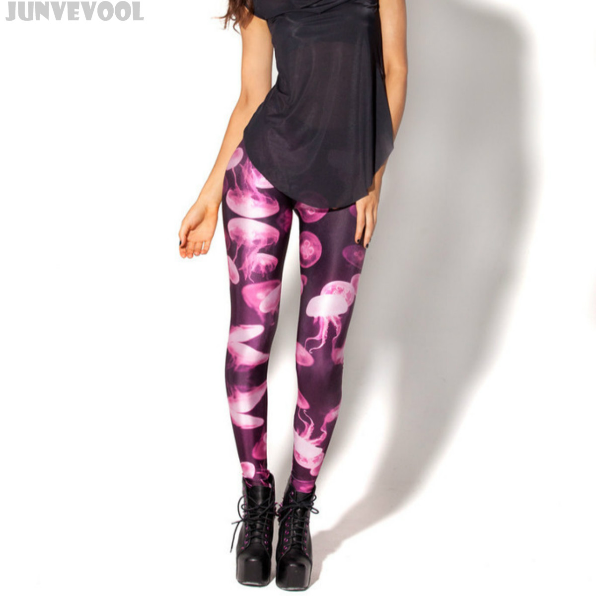 Available In Black, Grey, Navy, And Neon Pink Full Length 3