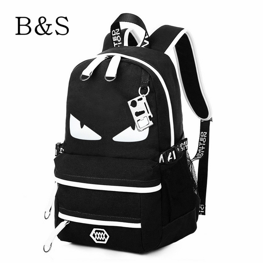 2016 Trend Anime Brand Backpack Preppy Style School Bags For Youth Women Bagpack Satchel Male Oxford Travel Bags mochila escolar(China (Mainland))