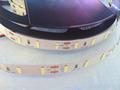 NEW 7020 led strip super brightness 10MM pcb DC12V 5m 300led 60led m led NON waterproof