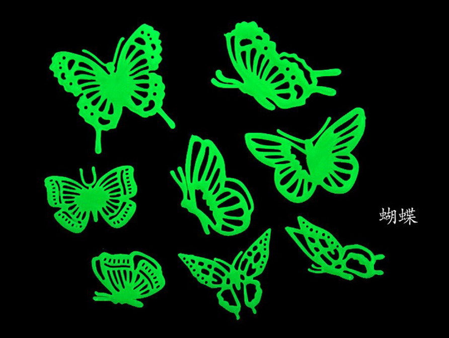 Top Sale Best Quality Butterfly Glow In The Dark Wall