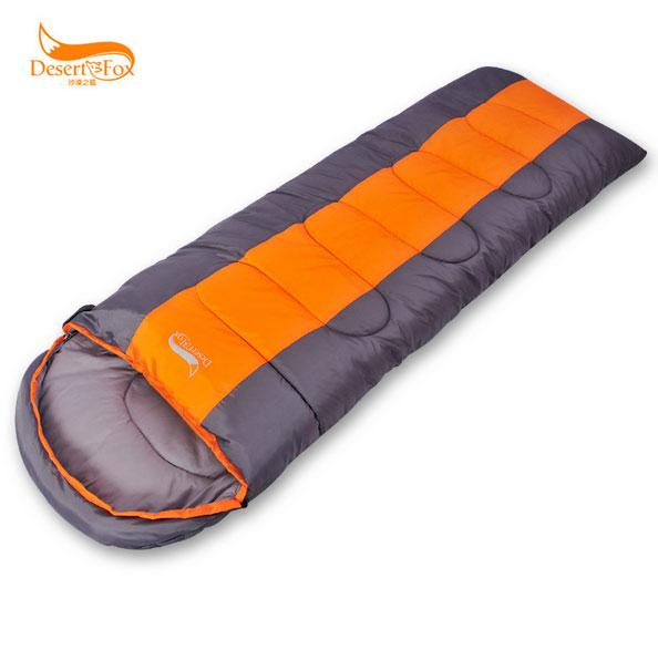 1.4kg Desert Fox outdoor sleeping bag sleeping bag envelope adult spring and winter sleeping bags double sleeping bag lunch