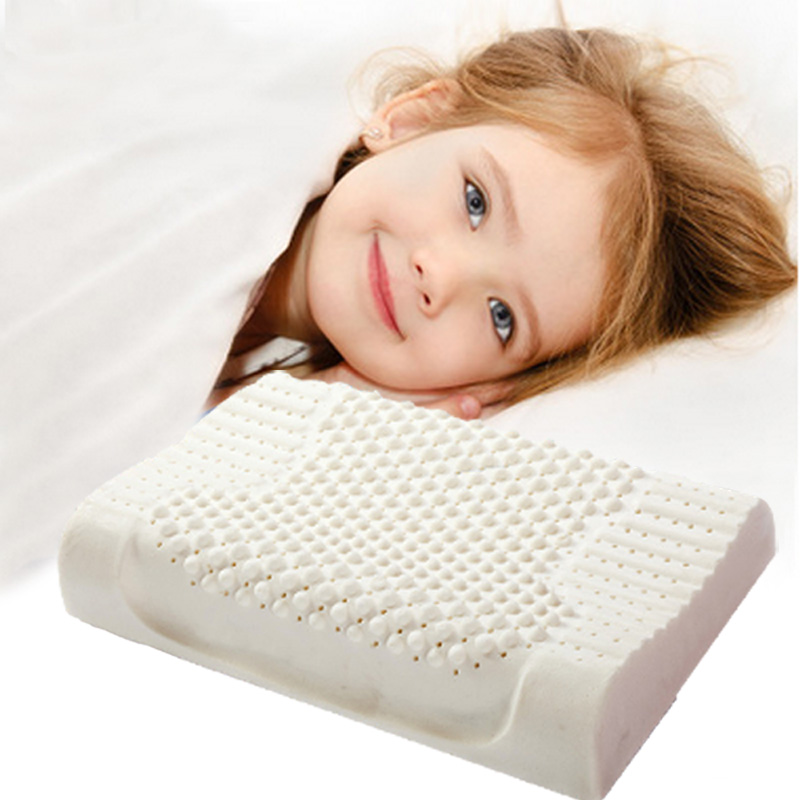 IDOSHOW 100%Latex Memory Bed Neck Head Memory Pillow Children White Hotel Bedding Pillow High Quality(China (Mainland))