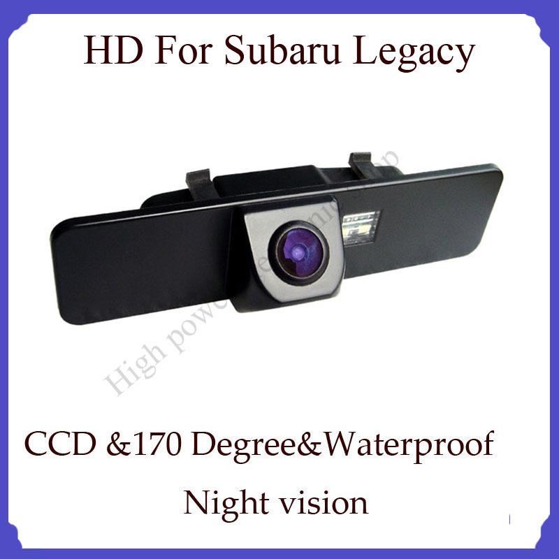 Wireless For Subaru Legacy HD CCD Night vision car backup camera 170 degree angel car rear view camera back up Camera(China (Mainland))