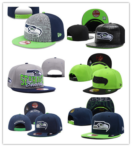 Free fast shipping Best Quality nfl cap all team SEATTLE SEAHAWKS cap Snapbacks 20 colors HATS(China (Mainland))