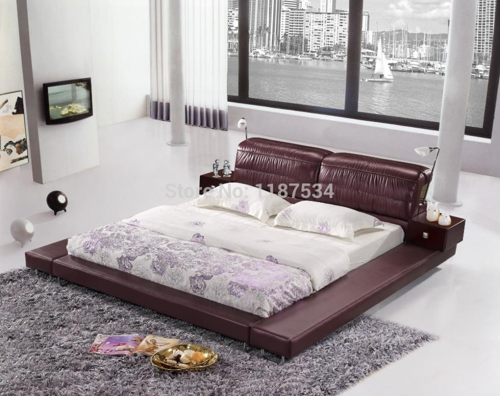 mobilier de chambre king size chambre a coucher lit king size bedroom furniture bed - Chambre A Coucher Lit King Size