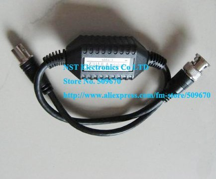 Free DHL/EMS shipping/20pcs/Coaxial Video Ground Loop Isolator Built in Video BALUN BNC Video Surveillance cctv system
