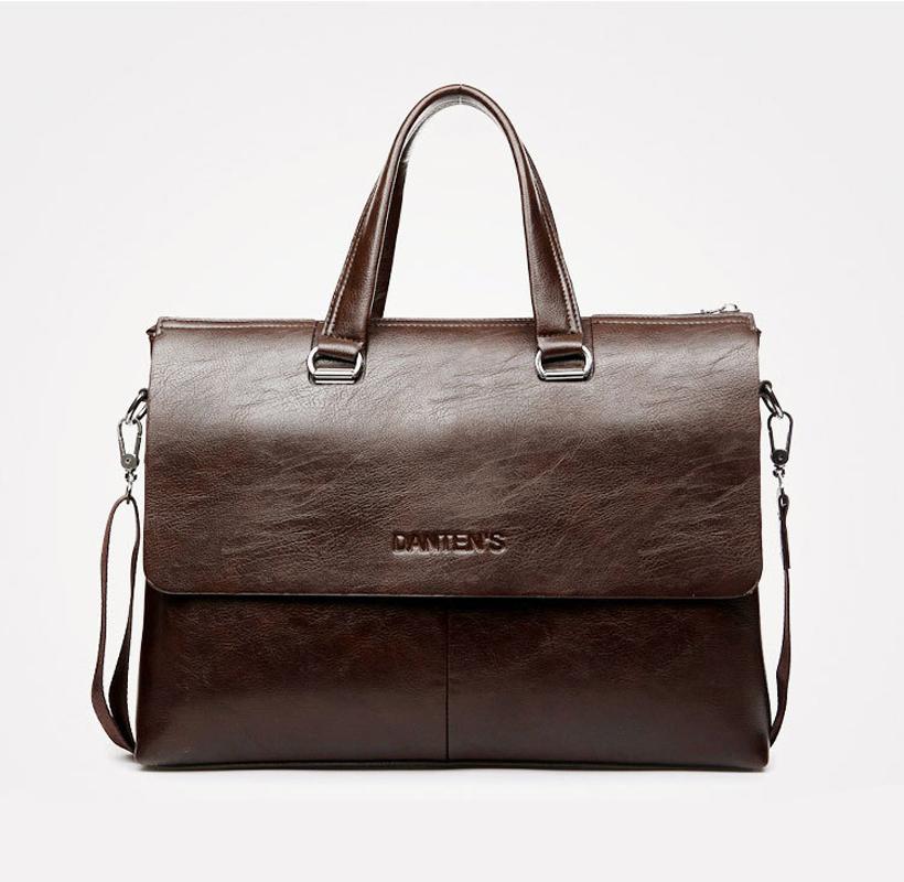 man business briefcase  fashion genuine  Tote laptop Shoulder Bag leather bags Luggage messenger bag bolsa feminina vintage   <br><br>Aliexpress