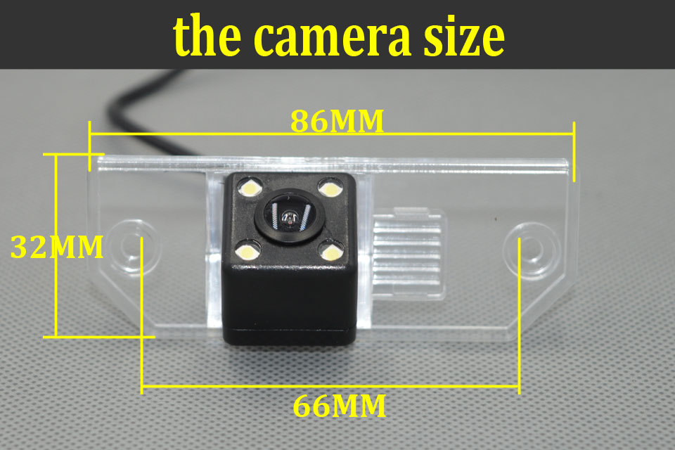 2016 New Car Rear view Camera Reversing Camera For Ford Focus(3)/2008/2010 Focus(2) Night Vision with guide line packing camera(China (Mainland))