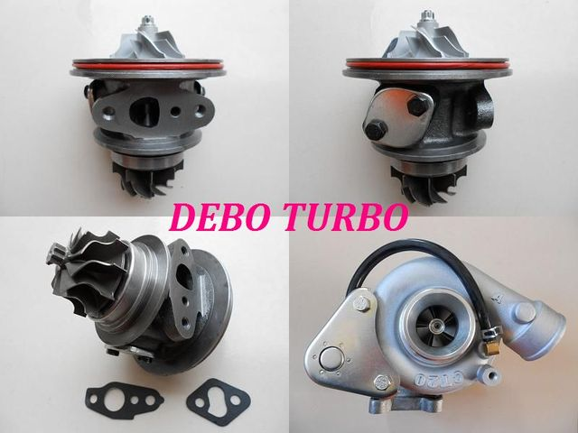 Nuevo cartucho Chra de CT20 17201-54060 Turbo turbocompresor para TOYOTA HILUX HIACE LAND crusier, 2L-T 2.4L 90HP 90-98