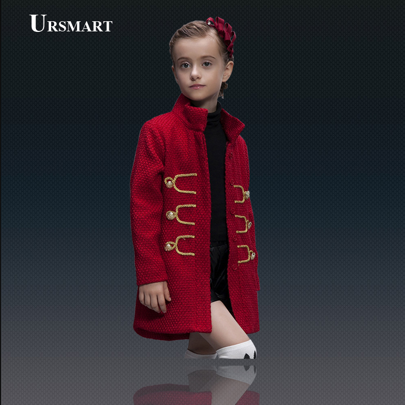 Candydoll Palace Retro Style Girls Tench Coat Autumn Winter Girls Coat Solid Girl Outwear  Kids Coat &amp; Jacket Chilrens Clothing<br><br>Aliexpress