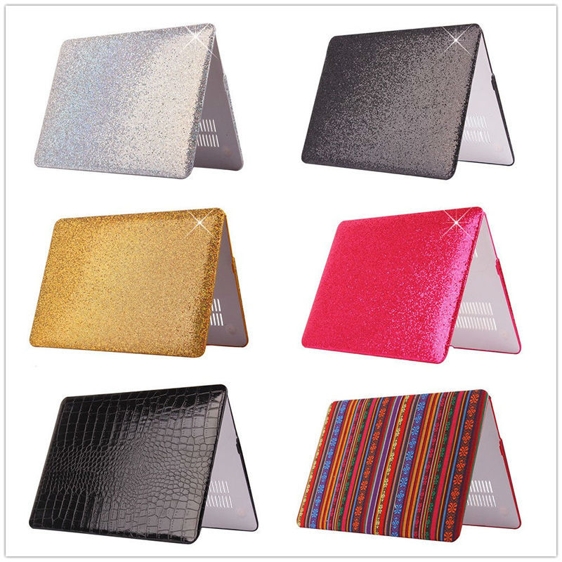 New Arrival Luxury Sparkle Bling Shiny Hard Laptop Case Cover For Macbook Air 11 13 Retina 13 15.4 Pro 13<br><br>Aliexpress