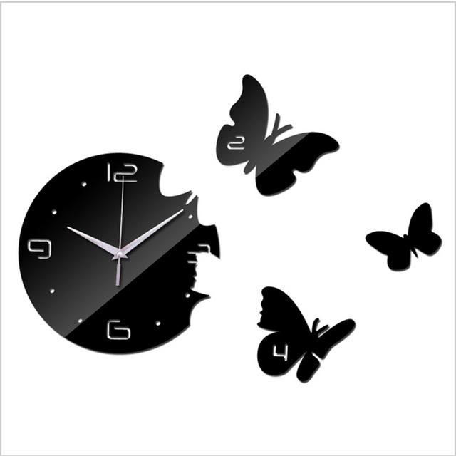 horloge pour cuisine moderne article bois horloge murale