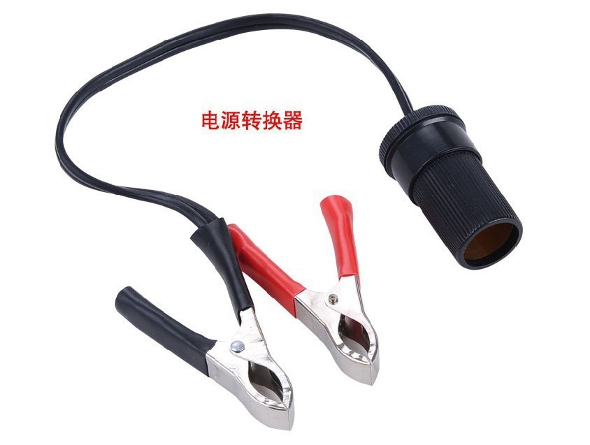 20A Car Pump Battery Terminal Test Clip Insulated Alligator Clamp Cable Auto Alligator Clips cigarette lighter & battery(China (Mainland))