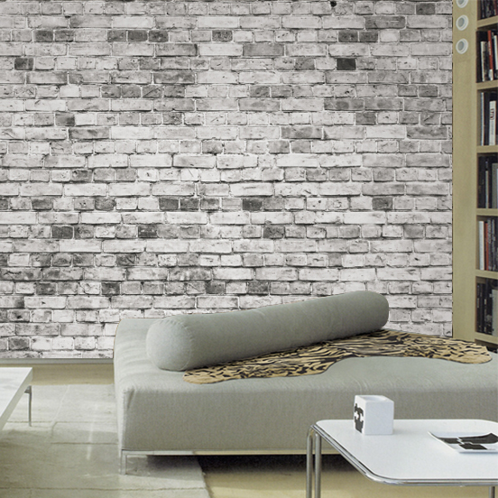 Buy wallpapers for living room 3d wall for Brick wallpaper sale