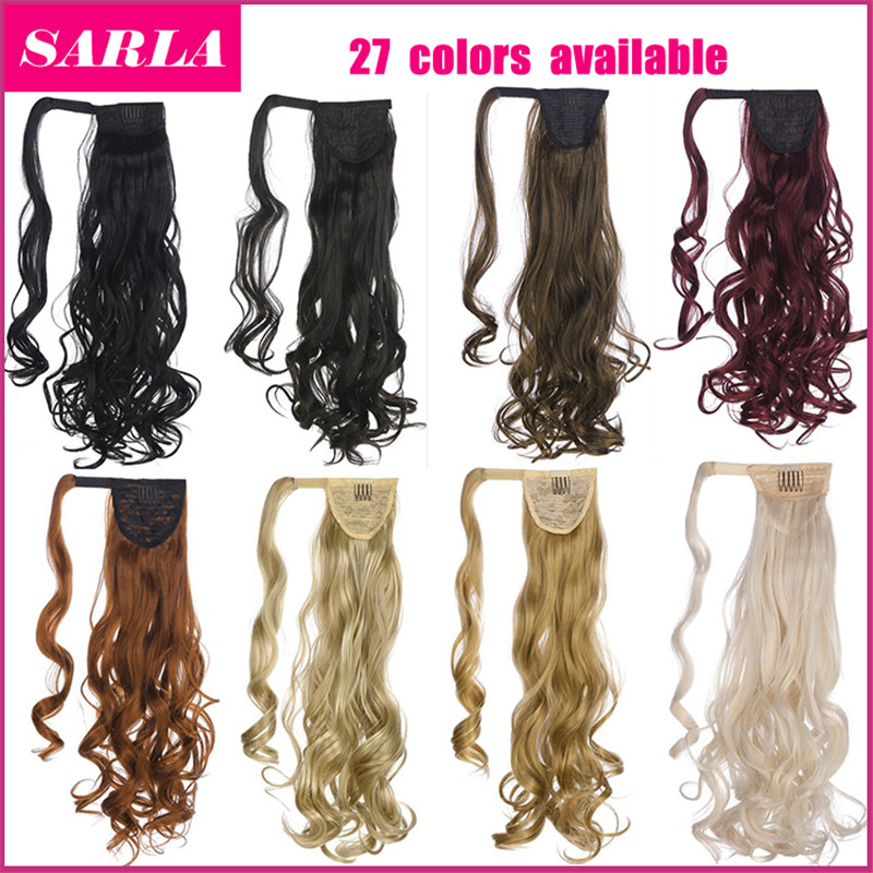 50pcs/lot wavy multicolor U pick 125g/pc Bind type ponytail hair wig party hair extension free shipping wholesale good quality<br>